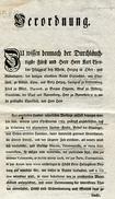 1787 Karl Freiherr Von Hartmann, Regierungsdirector, Neuburg, Thur. Germany - Historical Documents