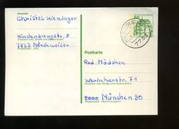 P 131 Mit Tagesstempel 23.-3.81 - 16  7733 MÖNCHWEILER B - [7] West-Duitsland