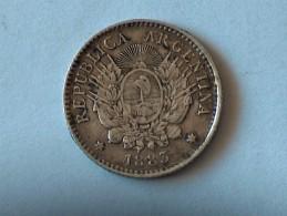 ARGENTINE 10 Centavos 1883 Centimes Cent SILVER ARGENT - Argentine