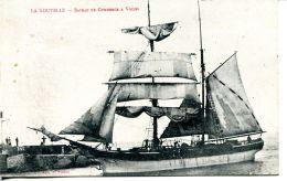 N°51196 -cpa La Nouvelle -bateau De Commerce à Voiles- - Commerce