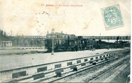 N°51197 -cpa Juvisy -un Train électrique- - Trains