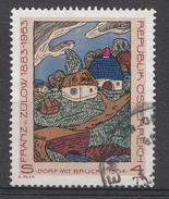 Autriche 1988  Mi.nr.: 1912  Todestag Von Franz Von Zülow  OBLITERE / USED / GEBRUIKT - 1945-.... 2ème République