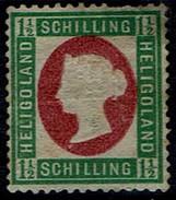 Helgoland 1973 - Freimarke Königin Viktoria - MiNr 10 (*) - Héligoland