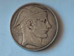 BELGIQUE 50 FRANCS 1948 ARGENT SILVER - 1945-1951: Régence