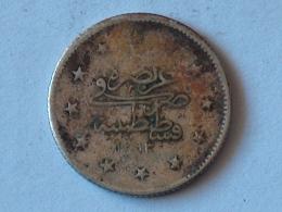 TURQUIE 2 Kurush AH 1293 - 28 / 1902  TURKEY ARGENT SILVER - Turquie