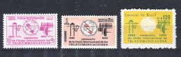 Lybia, Espana, Brasil,  1965  UIT,  ITU - Libië