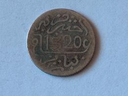 MAROC 1/2 Dirham - Abdelaziz 1320 -1903 3 ARGENT SILVER - Maroc