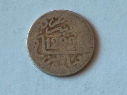 MAROC 1/2 Dirham - Hassan Ier 1299-1882 ARGENT SILVER - Maroc