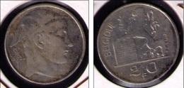BELGICA - MONEDA DE 20 FRANCOS DE PLATA (SILVER) DE 1950 - 1945-1951: Regencia