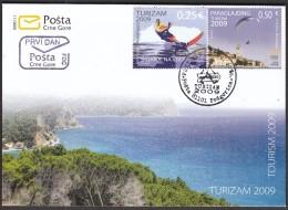Montenegro Podgorica 2009 / Water Skiing / Paragliding / Tourism