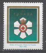 Canada 1992. Scott #1446 (MNH) Order Of Canada, 25th Anniv. - Neufs