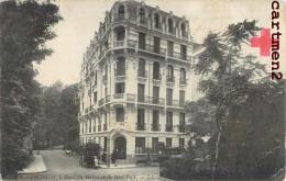 VICHY HOTEL DU HAVRE ET DE NEW-YORK + CACHET CROIX ROUGE HOSPICE DE VICHY GUERRE - Vichy