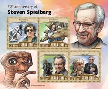 Sierra Leone 2016, Cinema, Spielberg, Dinosaurus, Shark, Horse, 4val In BF - Cinema