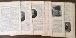 ANCIEN DOCUMENT 1911 LOUIS 18 XVIII A MEMEL ET A VARSOVIE - Old Paper
