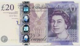 GREAT BRITAIN P. 392b 20 P 2012 UNC - 1952-… : Elizabeth II