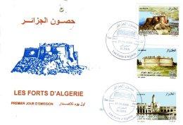 ALGERIE ALGER  Fort Santa Cruz D'Oran   Fort De Cap Matifou à Alger   Fort Du Phare à Alger  21/09/05 - Algeria (1962-...)