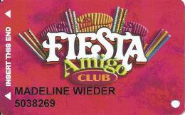 Fiesta Casino Las Vegas, NV - Slot Card Copyright 2001 - 2 Phone#s On Back - Casino Cards