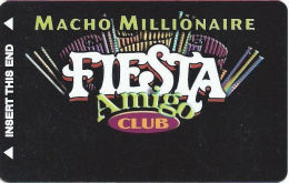 Fiesta Casino Las Vegas, NV - Slot Card Copyright 2001 (BLANK) - Casino Cards