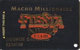 Fiesta Casino Las Vegas, NV - Slot Card Copyright 2002 - Casino Cards