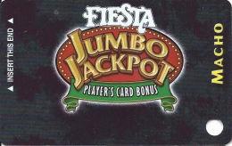 Fiesta Casino Las Vegas, NV - Slot Card Copyright 2004  (BLANK) - Casino Cards