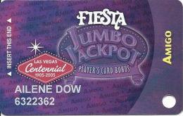 Fiesta Casino Las Vegas, NV - Slot Card Copyright 2005 - Casino Cards
