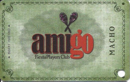 Fiesta Casino Las Vegas, NV - Slot Card Copyright 2009  (BLANK) - Casino Cards