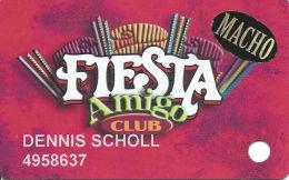 Fiesta Casino Las Vegas, NV - Slot Card Copyright 2001 - 1 Phone# On Back - Macho Senior - Casino Cards