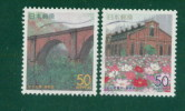 Japan Gunma å¹´ 2000 R448--4 9: Old Railway Bridge Substation Facilities 2 Full - 1989-... Kaiser Akihito (Heisei Era)