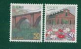 Japan Gunma å¹´ 2000 R448--4 9: Old Railway Bridge Substation Facilities 2 Full - 1989-... Imperatore Akihito (Periodo Heisei)