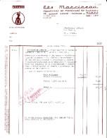 Facture De Niort (79) - 25 Avril 1967 - Ets Marcireau - Machines & Matériel De Bureau - Calculatrice Olivetti - France