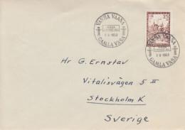 Enveloppe FDC  1er  Jour    FINLANDE   Centenaire  Incendie  De  VAASA   1952 - Finlande