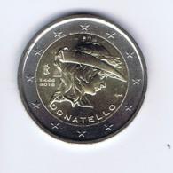 Italia - 2 Euro Commemorativo Anno 2016 - Donatello - Italia