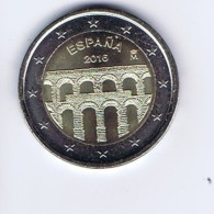 Spagna - 2 Euro Commemorativo Anno 2016  -   Acquedotto Di Segovia - Spagna