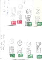50 Flammes Années 70 - Marcophilie (Lettres)