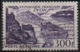 FRANCE Poste Aérienne  26 (o) Grande Ville : Lyon (cv 13 €) - Poste Aérienne