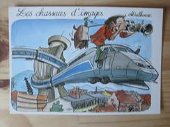 CPM Les Chasseurs D'image - Trains