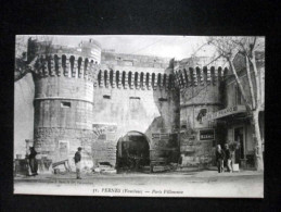 PERNES PORTE VILLENEUVE - Pernes Les Fontaines