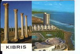 S21 POSTCARD: MAGOSA, KIBRIS -Salamis Harabeleri Ve Salamis Bay HOtel + Nice Stamp And Timbre - Turchia