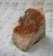 Z19 / PIERRE MINERALE BLANCHE ET MARRON 4 X 3.5 X 1.9 Cm Environ 28 Gr - Minerals