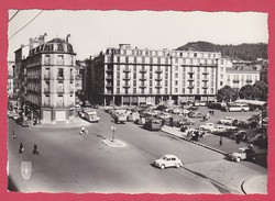 CPSM - 43 - LE PUY EN VELAY - PLACE DU BREUIL + VOITURES DES ANNEES 50 - Le Puy En Velay