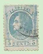 1731 ~  VENEZUELA  N°  24  Oblitéré - Venezuela