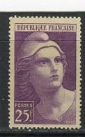 FRANCE - Y&T N° 731* - Marianne De Gandon - 1945-54 Marianne (Gandon)