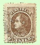 1733 ~  VENEZUELA  N°  27  Oblitéré - Venezuela