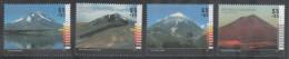 ARGENTINA , 2014, MNH, MOUNTAINS, VOLCANOES,4v - Volcans