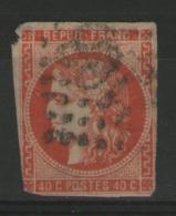 N°48c Oblitéré (rouge-orange)      - Cote 250€ -