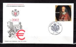 """Enveloppe 1er Jour De 2002 """" MAZARIN """" N° YT 2340. Parfait état. FDC - FDC"""