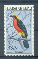 Mhe047 FAUNA VOGELS BIRDS VÖGEL AVES OISEAUX MALI 1960 ONG/MH - Birds