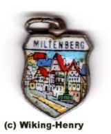 Miltenberg - Wappen Anhänger Für Bettelarmband - Souvenirs