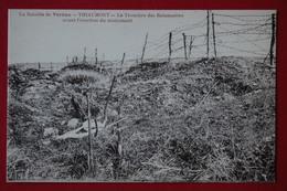 CPA - VERDUN DOUAUMONT THIAUMONT (55) - La Tranchée Des Baïonnettes Avant L'érection Du Monument - Douaumont