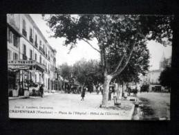 CARPENTRAS PLACE DE L'HOPITAL - Carpentras